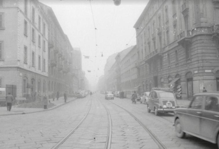Viale Bligny, marzo, 1964 - Archivio La Notte