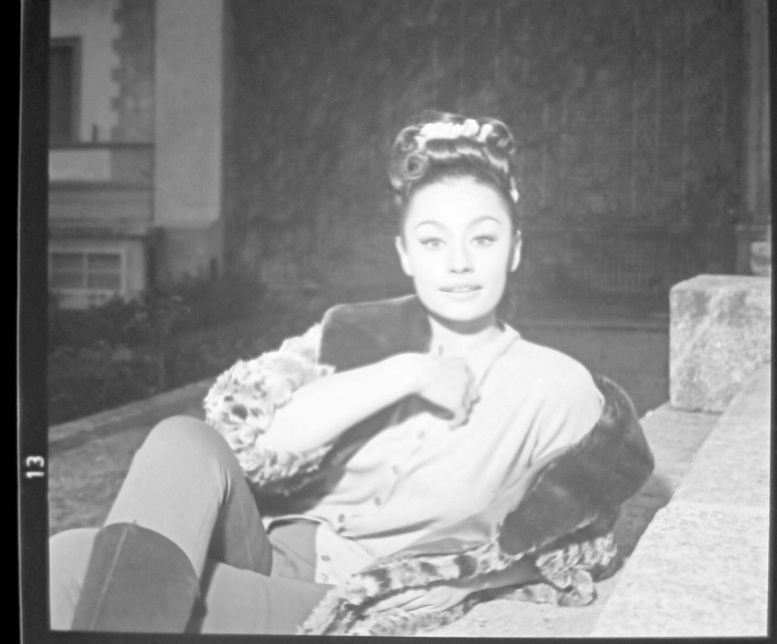 Raffaella Carrà a Cernobbio, 1964
